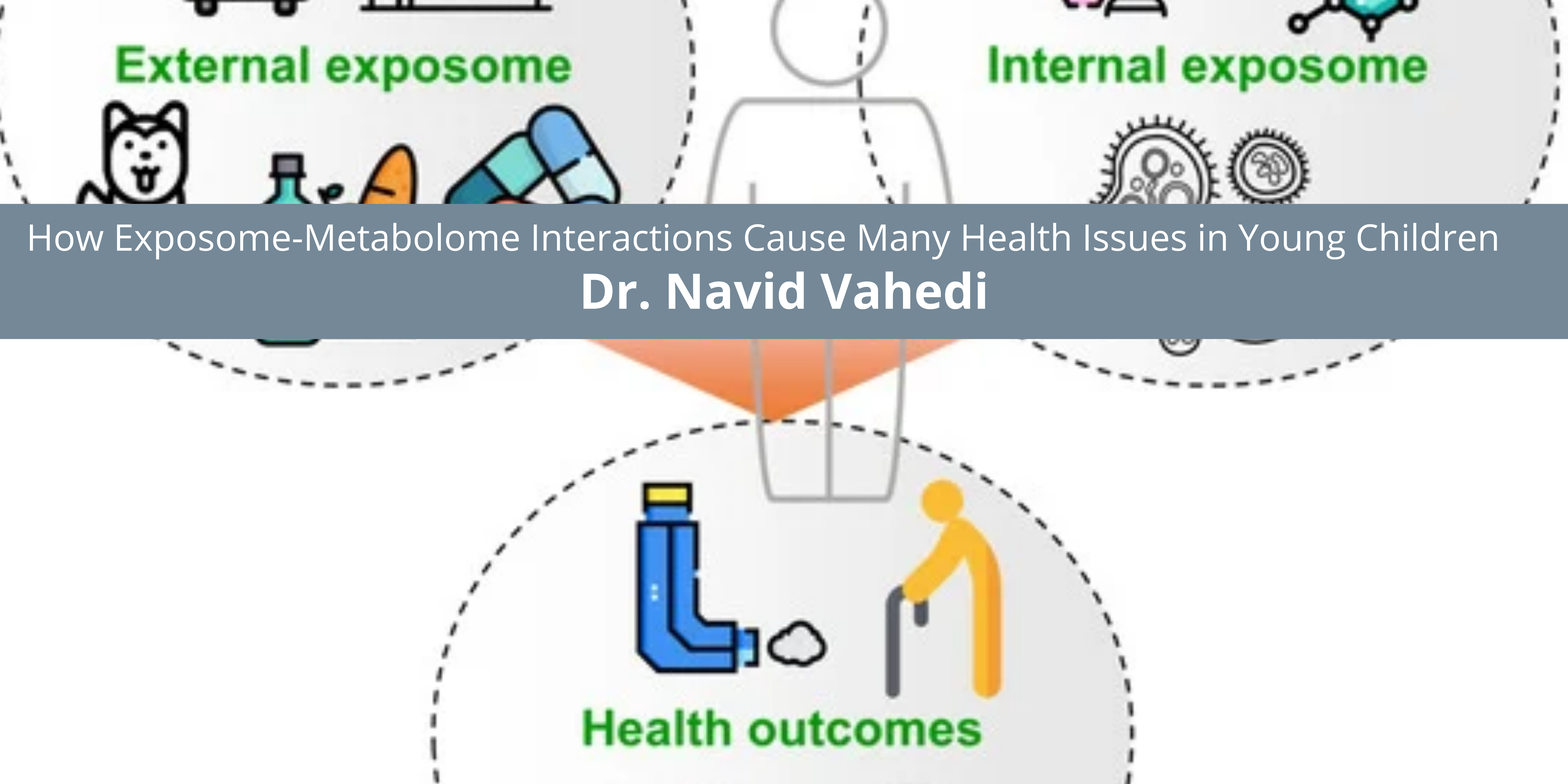 Dr. Navid Vahedi Discusses How Exposome-Metabolome Interactions Cause Many Health Issues in Young Children